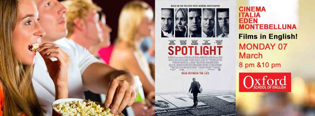 Spotlight Oxford School and Cinema MONTEBELLUNA.